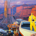Neulich im Jahr 2000: Future Tourism at the Grand Canyon [Short story]